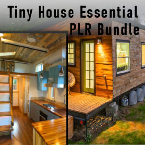 tiny house plr bundle